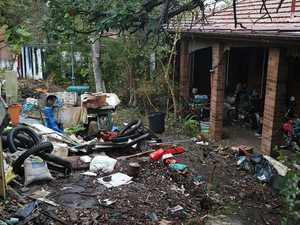 First photos of hoarder home where mummified body found