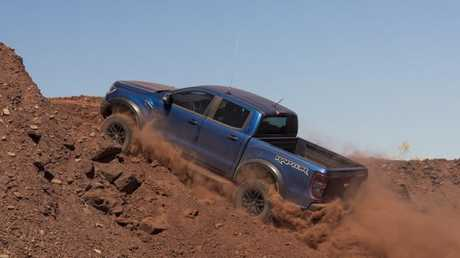 Baja-style: The Raptor is built to go fast off-road.