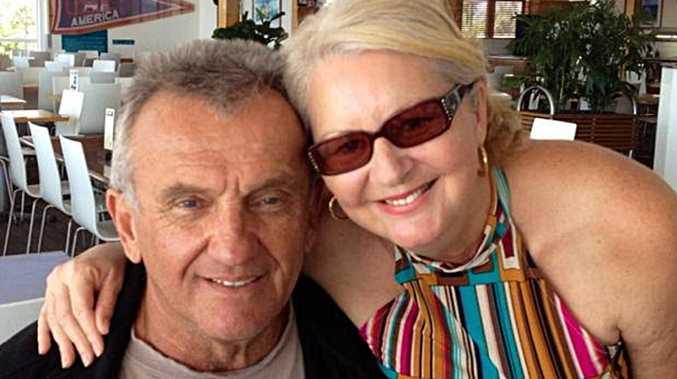 Victim George Gerbic and accused murderer Lindy Williams.