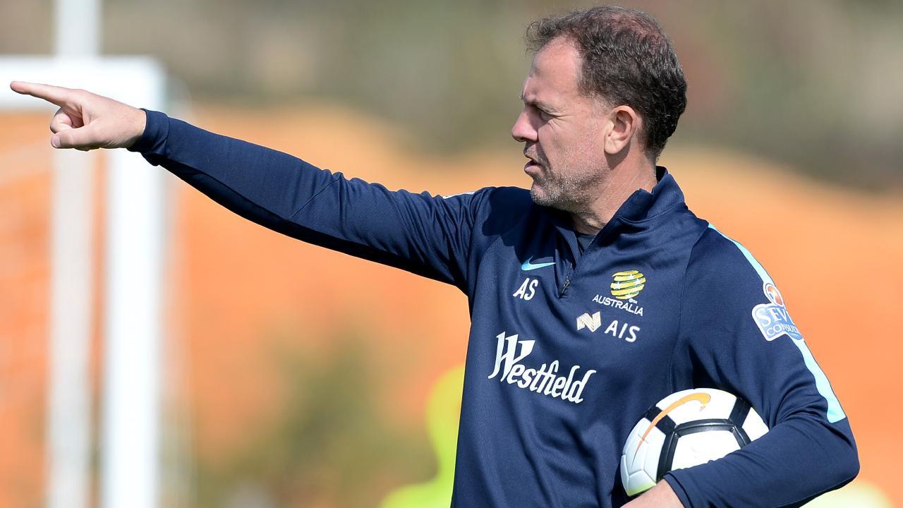 Matildas coach Alen Stajcic has been shortlisted for the FIFA women's coach of the year award.