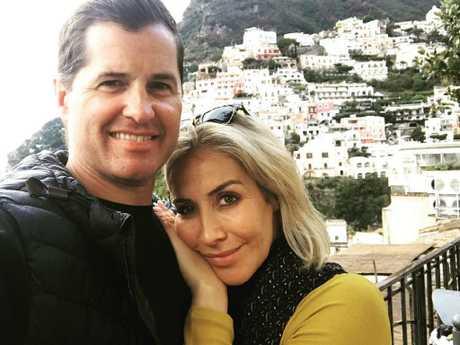 Samantha with ex-partner Ryan Phelan. Picture: Instagram