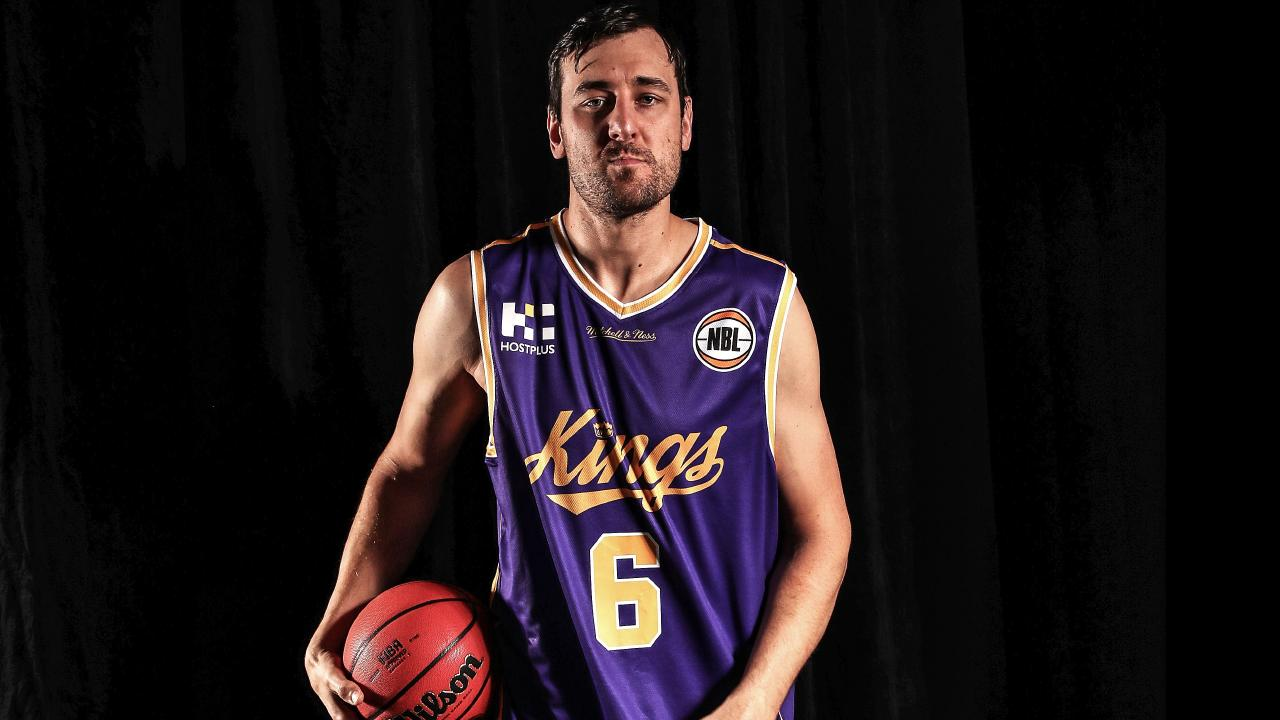 Marquee man Andrew Bogut will star in the NBL's grand opening. Picture: Getty Images