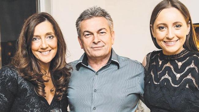 Karen, Borce and Sarah Ristevski.