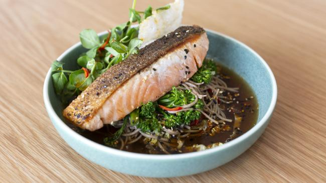 Salmon and broccoli are two foods dietitians eat regularly. Picture: Jacqui Wilkins