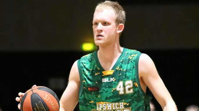 Ipswich Force basketballer Mitch Poulain