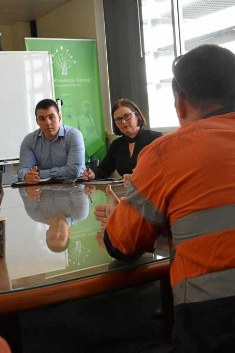 Stories of labour hire workers fearing their job security were heard at a round table meeting in Gladstone in July with Labor's Shadow Assistant Minister for workplace relations spokeswoman Lisa Chesters and the Labor candidate for Flynn, Zac Beers.