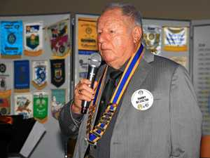 Changing of the guard at Rotary