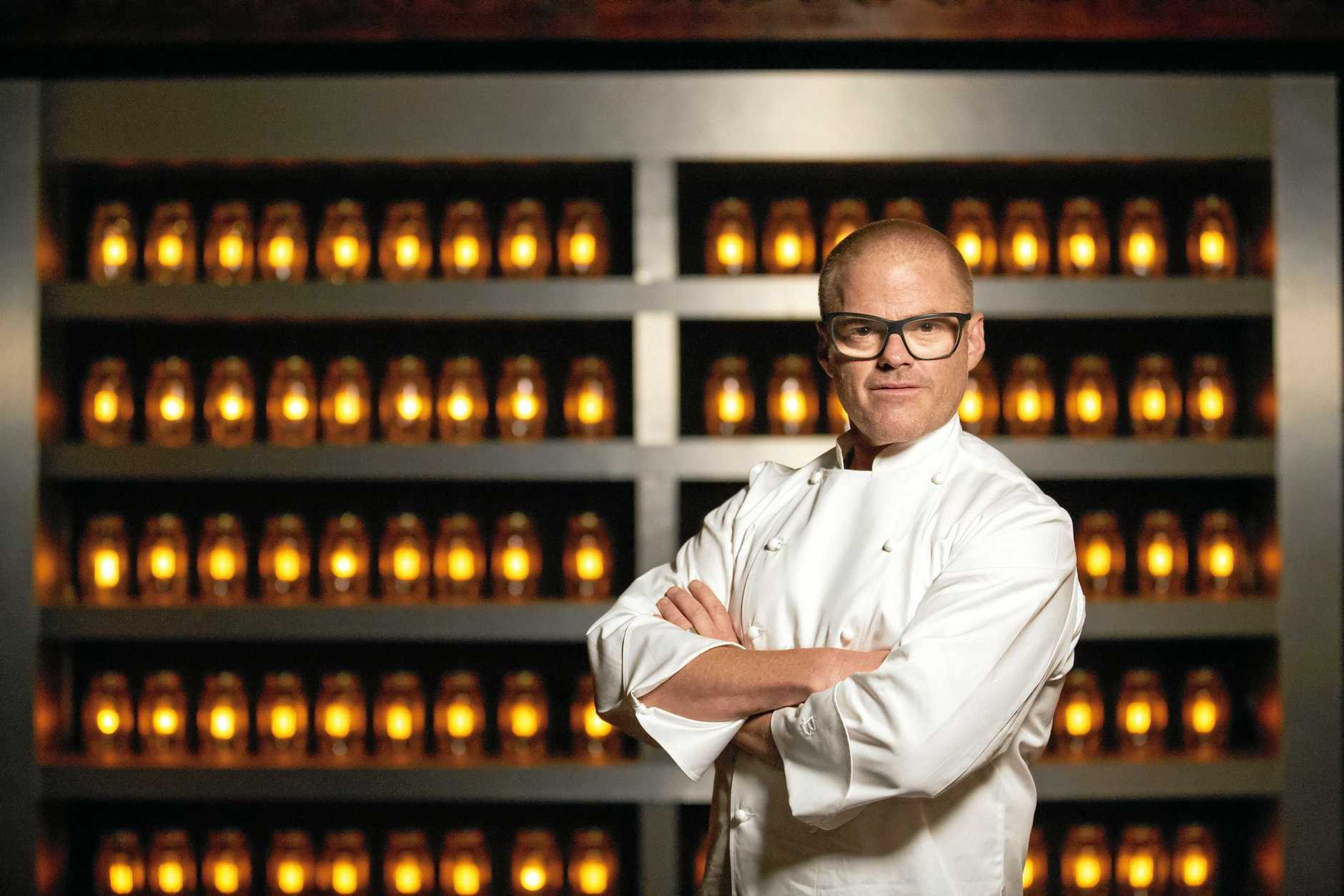 Chef Heston Blumenthal will set this year's grand final challenge on MasterChef.