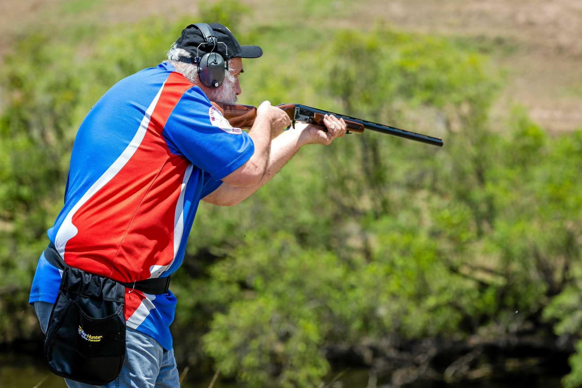Shooting Clays, Ron Owen Gympie