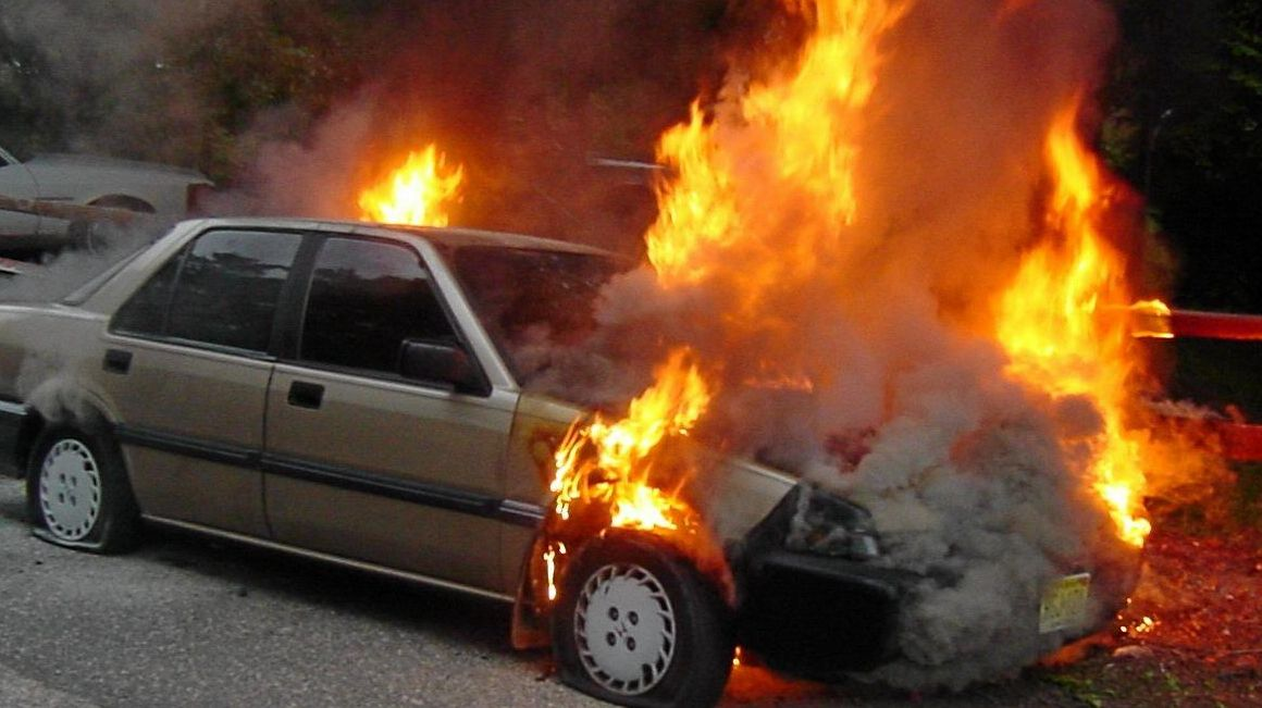 A Redbank Plains man was arrested for kidnapping one man and setting fire to another man's car. (File)