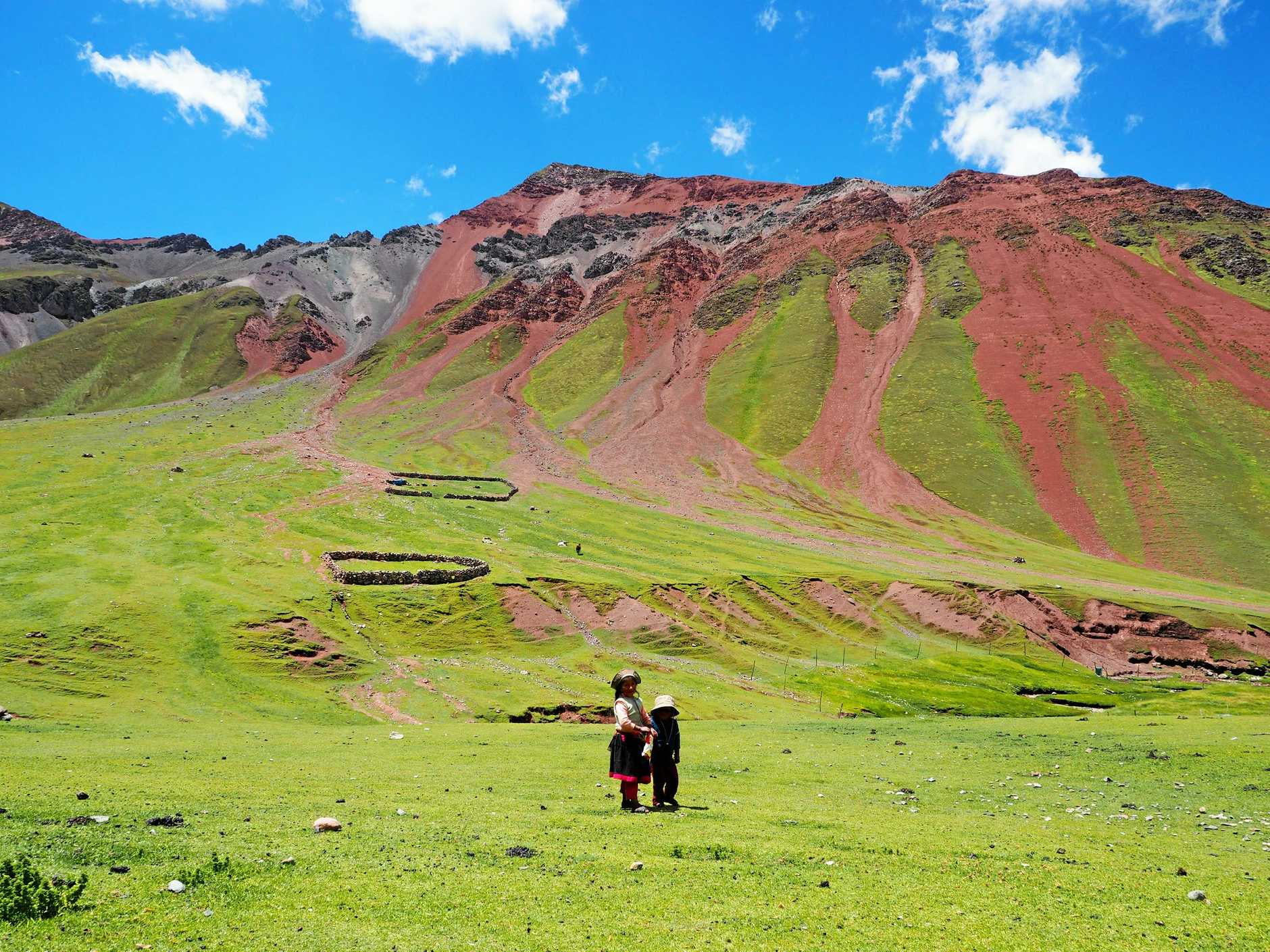 Vinicunca - or more commonly known as Rainbow Mountain.