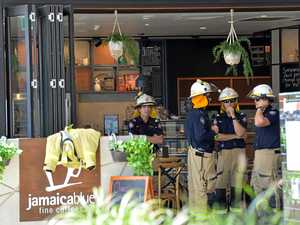Cafe open after gas leak in Sydney St Markets
