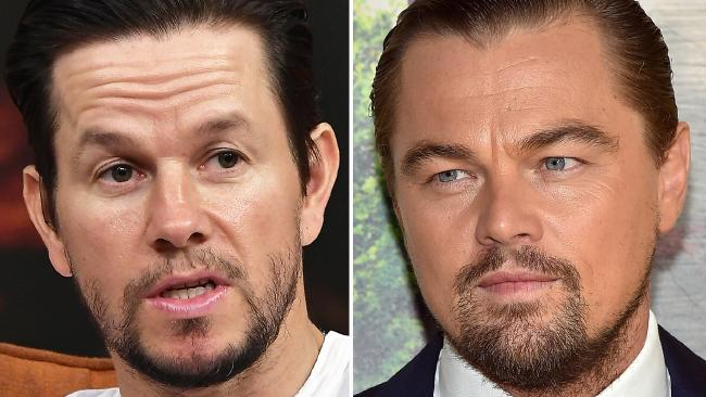 Before they were co-stars, Mark Wahlberg and Leonardo DiCaprio couldn't stand each other. Picture: Gustavo Caballero/Getty Images
