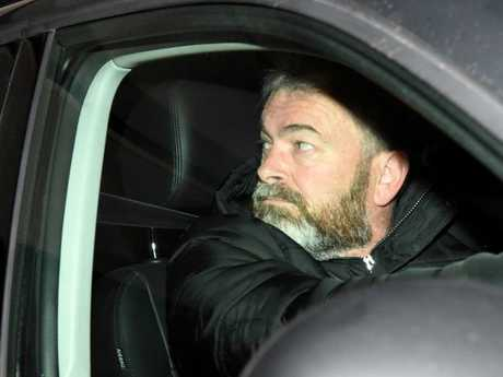 Borce Ristevski before he was charged with his wife's murder. Picture: Nicole Garmston