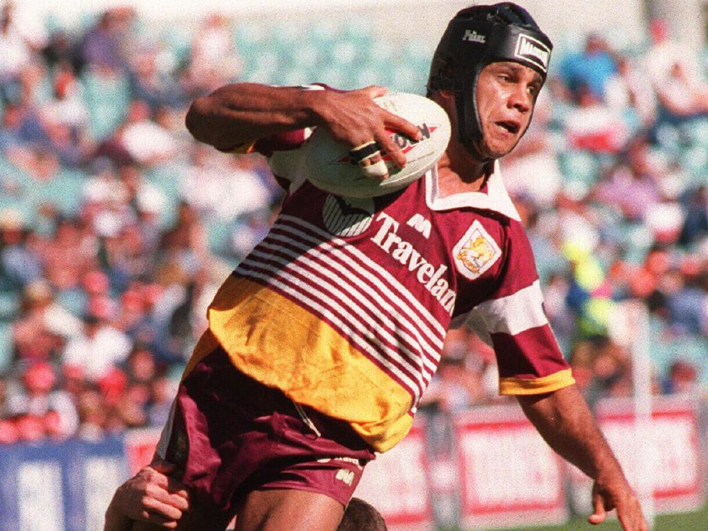 Steve Renouf in action in 1996.