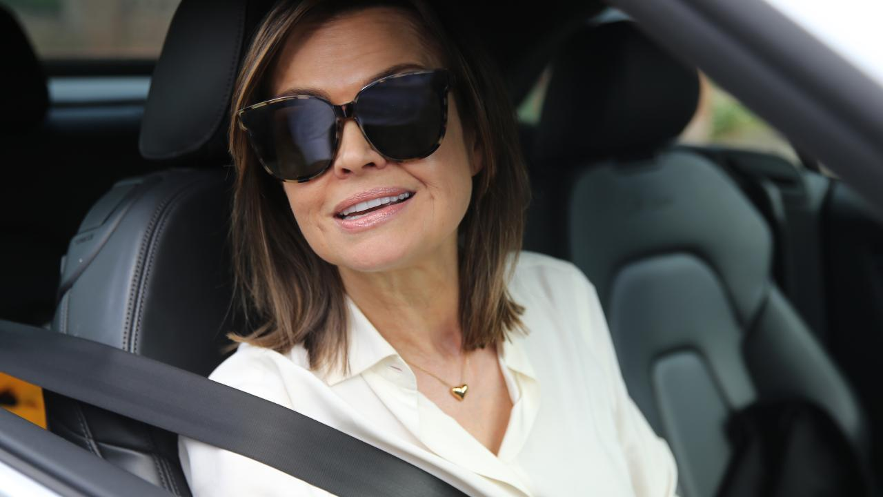 Lisa Wilkinson leaves home after she announced her departure from Channel 9. Picture: John Grainger