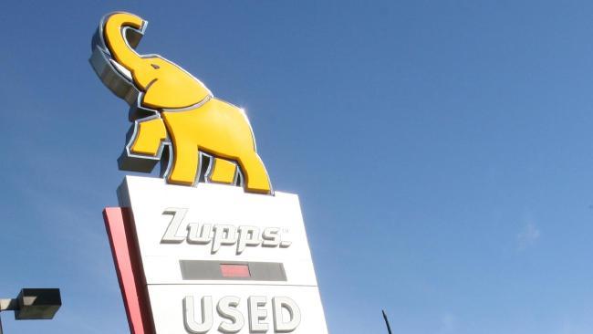 Zupps famous elephant logo.