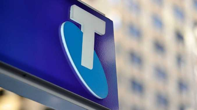 Telstra shares at 3-mth high despite profit drop