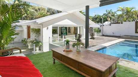 This three-bedroom house at 26 Wantima St, Noosa Heads, is on the market.
