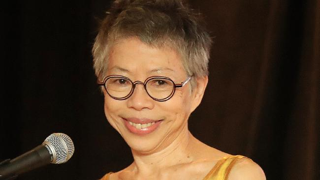 TV Presenter Lee Lin Chin has abruptly quit SBS. Picture: Justin Brierty