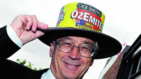 Not even a Dick Smith hat could persuade Australians to buy Ozemite spread in sufficient numbers.
