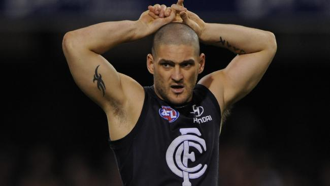 Brendan Fevola says today's Carlton side is worse than the one he played in.