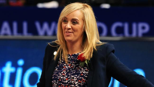 England coach Tracey Neville says her team has to beat the best to get financial gain. Picture: Mark Evans/Getty Images