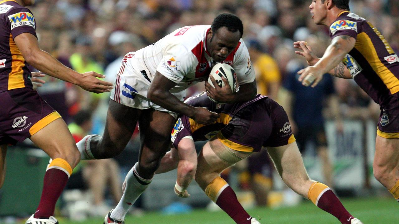 Wendell Sailor of the Dragons against his former side.