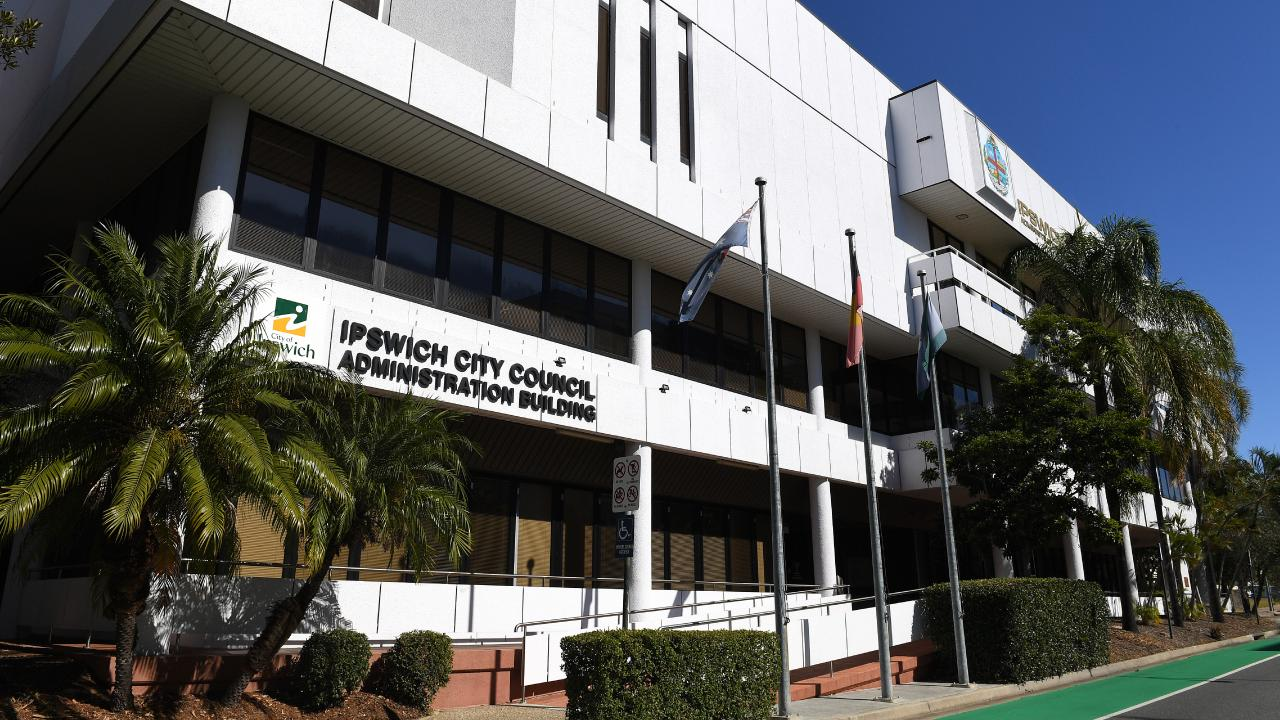 The Ipswich City Council offices. Picture: AAP/Dave Hunt