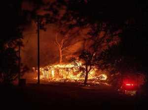Sunshine Coast locals flee inferno