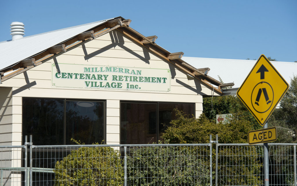 Millmerran Centenary Retirement Village, also known as Yallambee Aged Care (34-40 Margaret St, Millmerran). Saturday, 14th Jul, 2018.