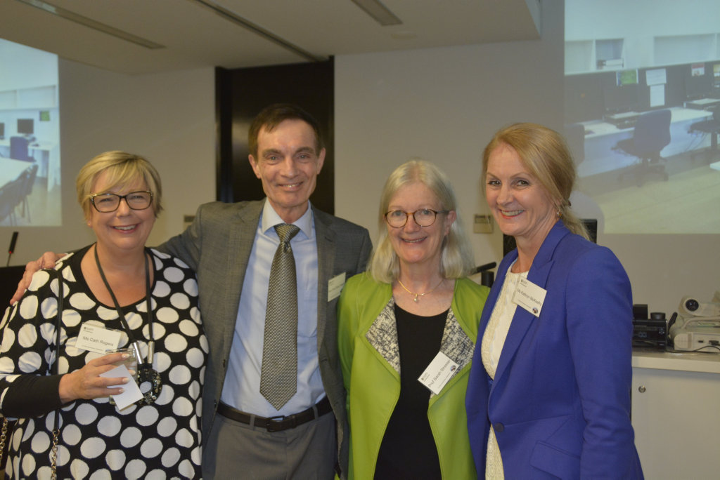 Cath Rogers, Peter Baker, Sarah Strasser and Kathryn McKeefry.