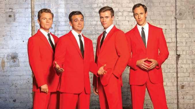 Cameron MacDonald, Bernard Angel, Thomas McGuane and Glaston Toft will star in the 2018 Australian production of Jersey Boys.