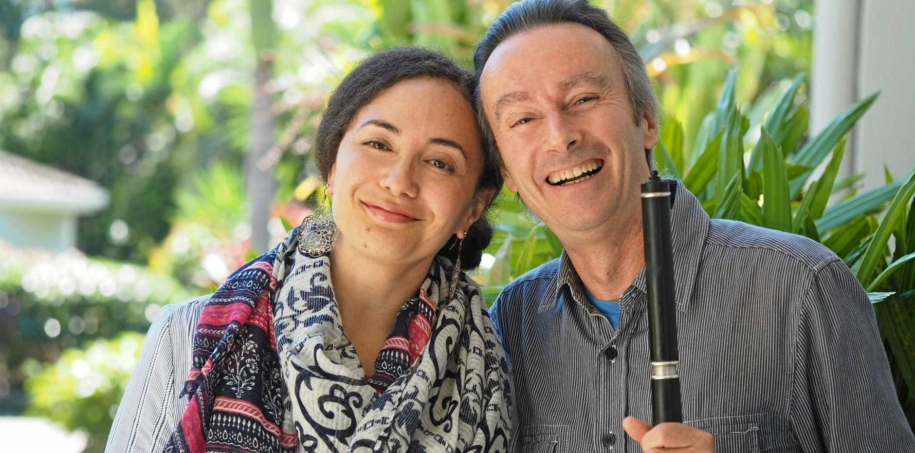 ENTERTAINING AFTERNOON: Mark Dunbar and his partner Carmen will be at the next Pleasant Sunday Afternoon concert.