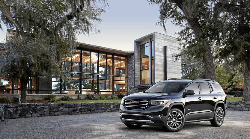 Holden will launch the GMC Acadia late in 2018.