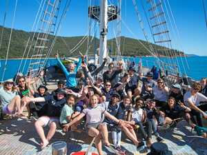 Gympie student sets sail on life-changing adventure