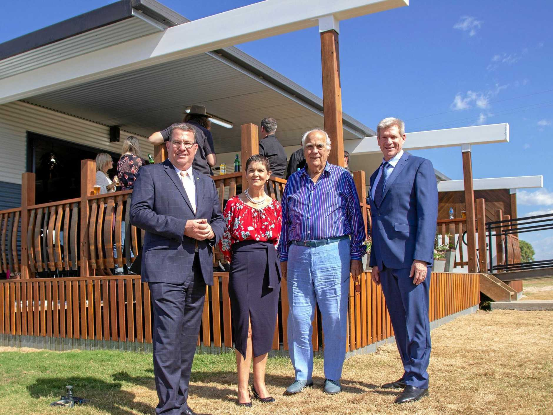 OPEN FOR BUSINESS: The $20 million Grantham Farm Workers' complex was officially opened today and is expecting to fill up within weeks.