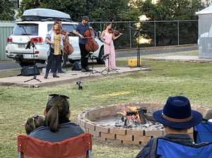 Live music fills the air in Emerald