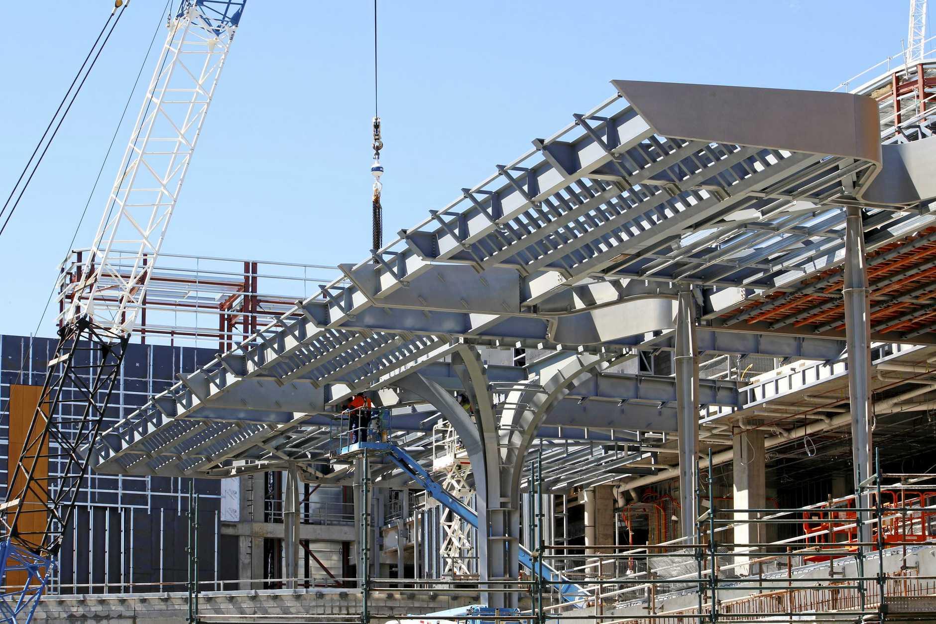 FILE PHOTO: Grand Central construction.