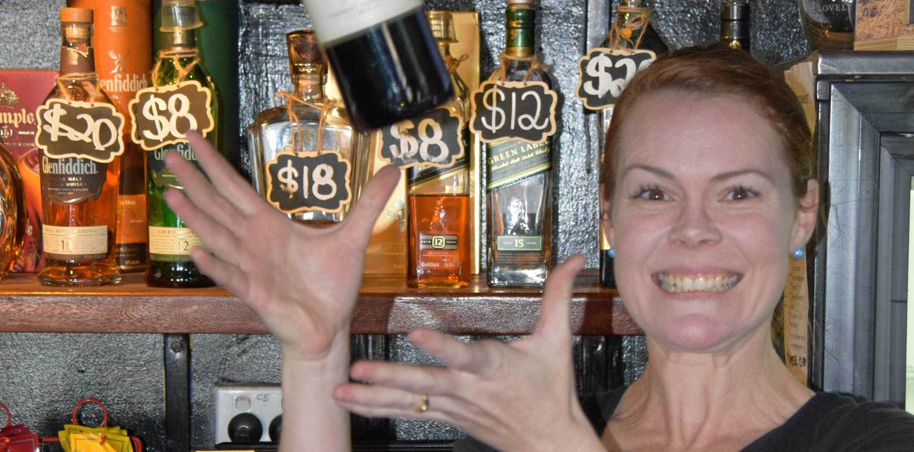 U.G.L.Y BARTENDER: Tegan Cramp is raising funds for the Leukemia foundation in this year's U.G.L.Y Bartender competition