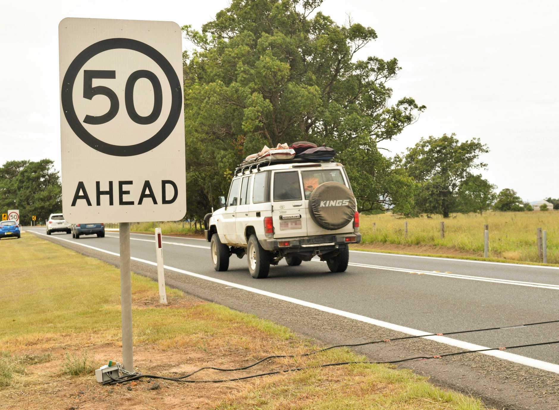 PERMANENT FIX: A speed camera will be installed along the Pacific Highway at Ulmarra in October.