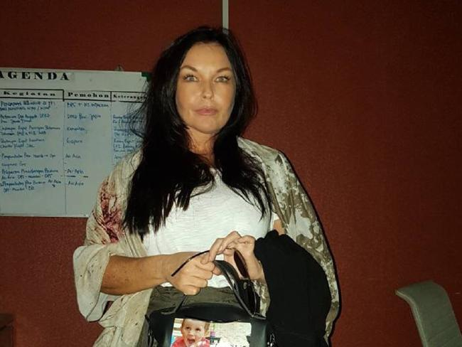 Schapelle Corby pictured shortly before being deported from Bali. Picture: Supplied