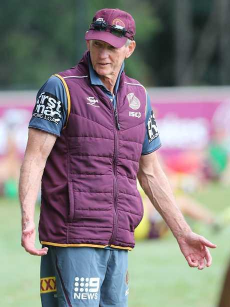 Brisbane Broncos coach Wayne Bennett. Picture: Peter Wallis