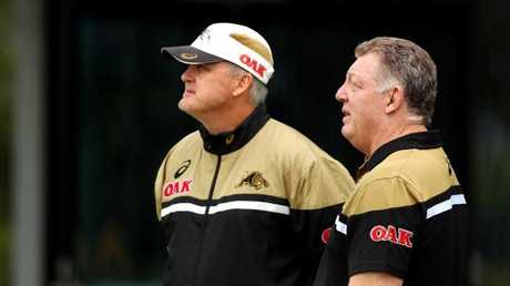 Phil Gould says he expects Nathan to leave the Panthers to join with Ivan. Picture: Gregg Porteous