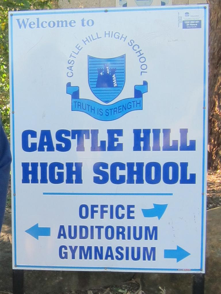Castle Hill High School is under surveillance from its own cameras.
