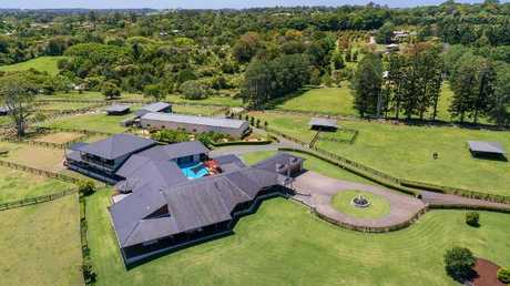 The sprawling property was expected to see five or six registered parties at auction this weekend.