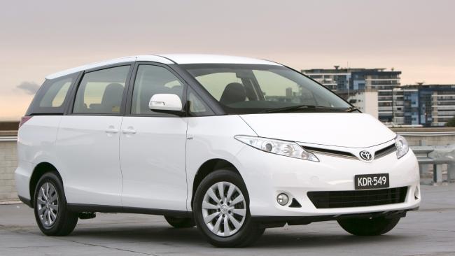 2018 Toyota Tarago.