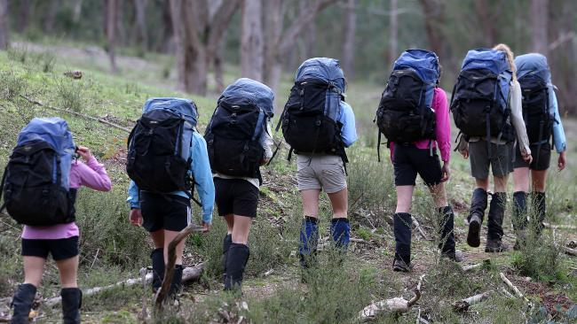 Lauriston Girls' School has its own Howqua campus in the high country. Picture: Ian Currie