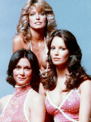 (L-R) Kate Jackson, Farrah Fawcett & Jaclyn Smith, the OG Charlie's Angels.