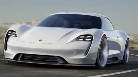 Charging ahead: Porsche is set to put its first electric sports car into production.